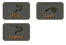 duel arena attack styles