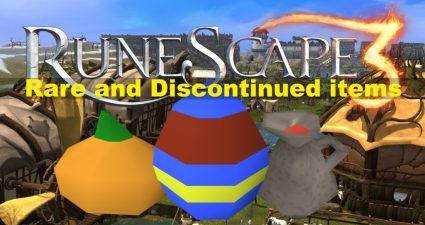 RuneScape 3 discountinued items